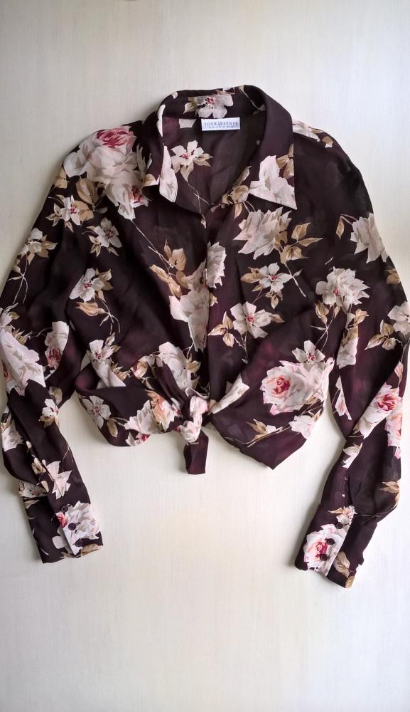 Bluzka w kwiaty C&A