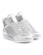 Srebrne Sneakersy Singer 39...