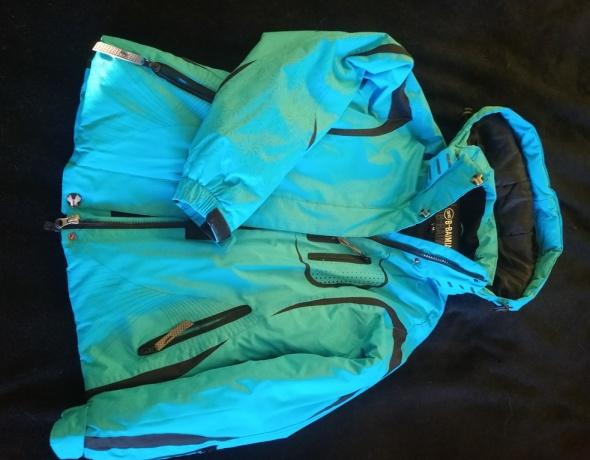 Ciepła kurtka przeciwdeszczowa
