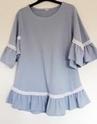 błękitna bluzka 46...