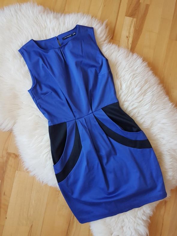 Sukienka kobaltowa Atmosphere Tulipan Princeska 38...