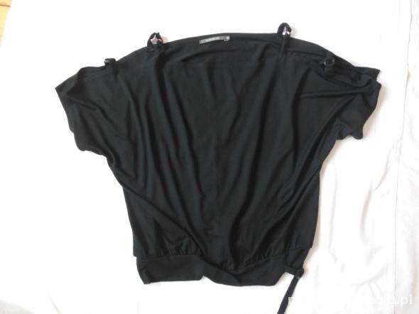 Czarna bluzka nietoperz River Island 40 L jak nowa...