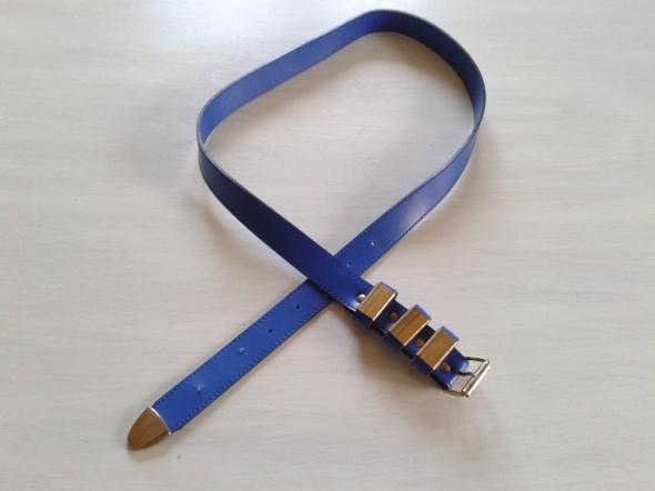 Pasek niebieski 100 cm M