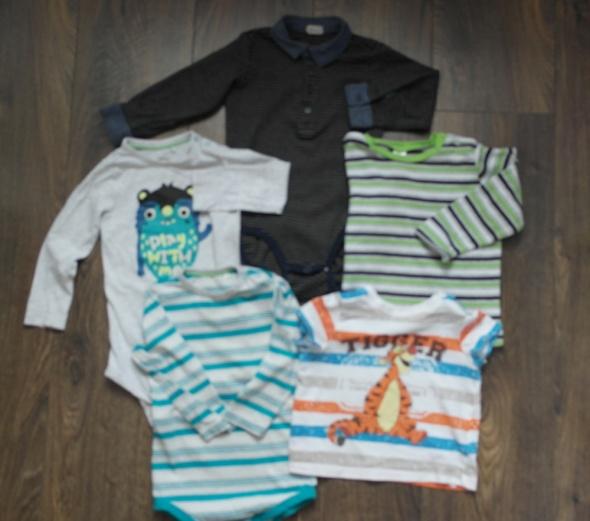 Bluzki Disney CoolClub H&M body bluzeczki 86