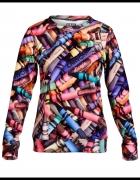 EVC dsgn bluza kolorowa w kredki Crayon r S Mr Gugu...