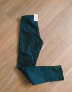 Nowe spodnie H&M rurki skinny high waist wysoki stan...
