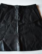 Zara skórzana czarna spódnica leather r M 38...