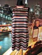 new look sukienka paski mieniąca się wyjściowa casual 42...