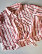 Koszula krótka wiązana ONLY paski 38 M...