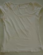 bluzka H&M BIAŁA M L...