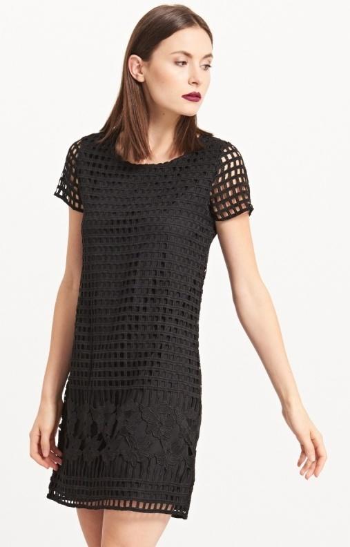 Sukienka z koronką Reserved haft elegancka rozmiar XS...