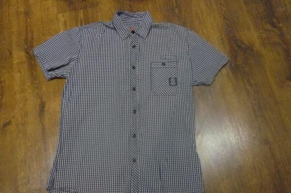 Koszula w drobną kratę