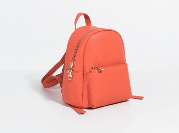 Pomarańczowy plecak jesień...
