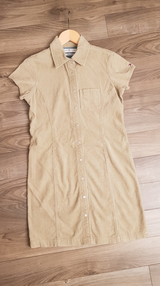 Sukienka Tommy Hilfiger r XS S sztruks