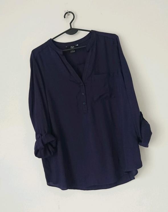 F&F granatowa koszula XL