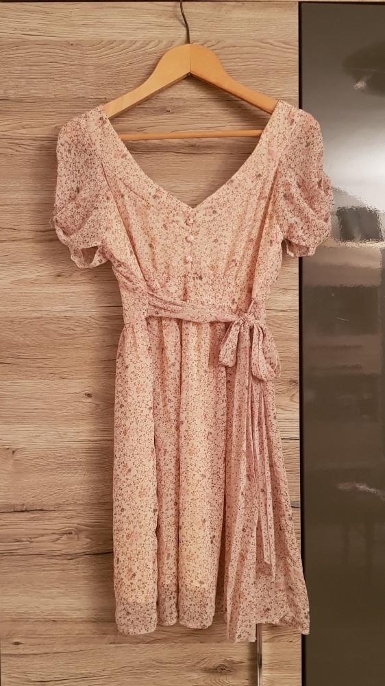 Sukienka Atmosphere r S romantyczna kwiaty vintage urocza