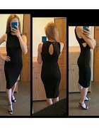 Czarna sexi sukienka Bershka XS S...