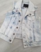 kamizelka jeans koronka 34...