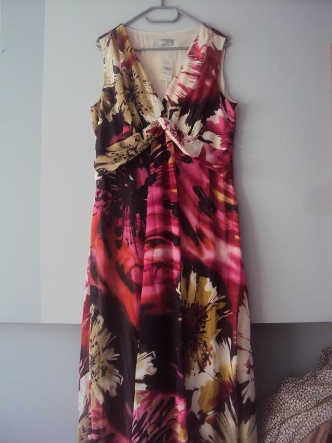 nowa weselna sukienka maxi...
