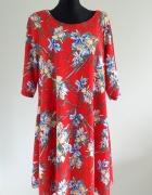 Sukienka Yours z krótkimi rękawami 46 48...