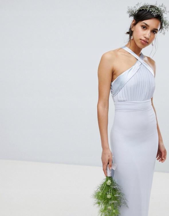 Sukienka długa maxi xs 34 kokarda TFNC