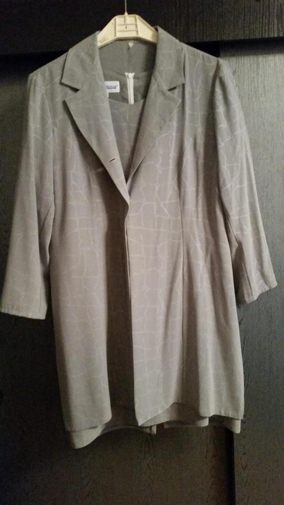 Kostium sukienka marynarka narzutka roz 42