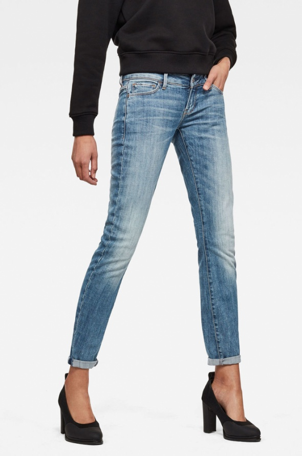 G STAR Raw Jeansy 3301 Deconstructed...