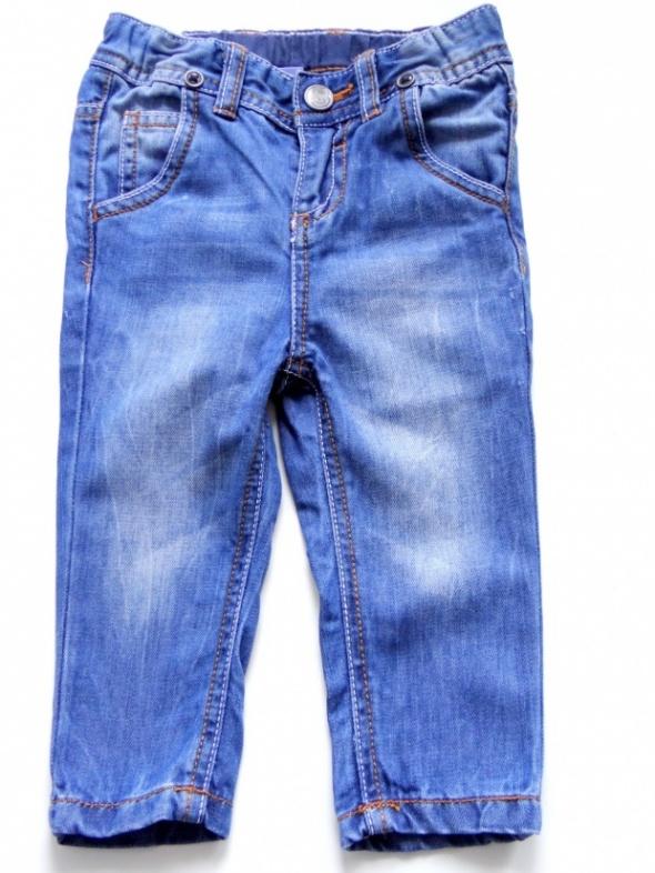 Spodnie i spodenki Spodnie jeansowe rozmiar 74