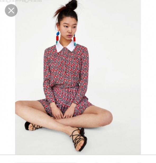 Koszula z kołnierzykiem Zara