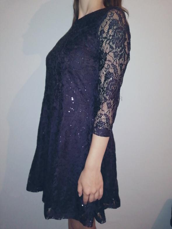 Sukienka fioletowa...