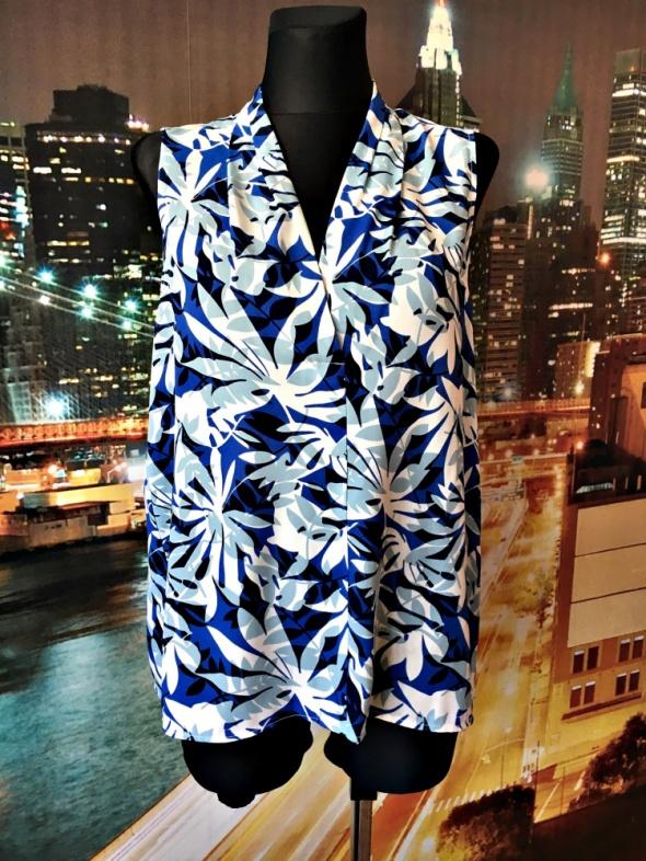 autonomy bluzka nowa modny wzór hawajski casual 44