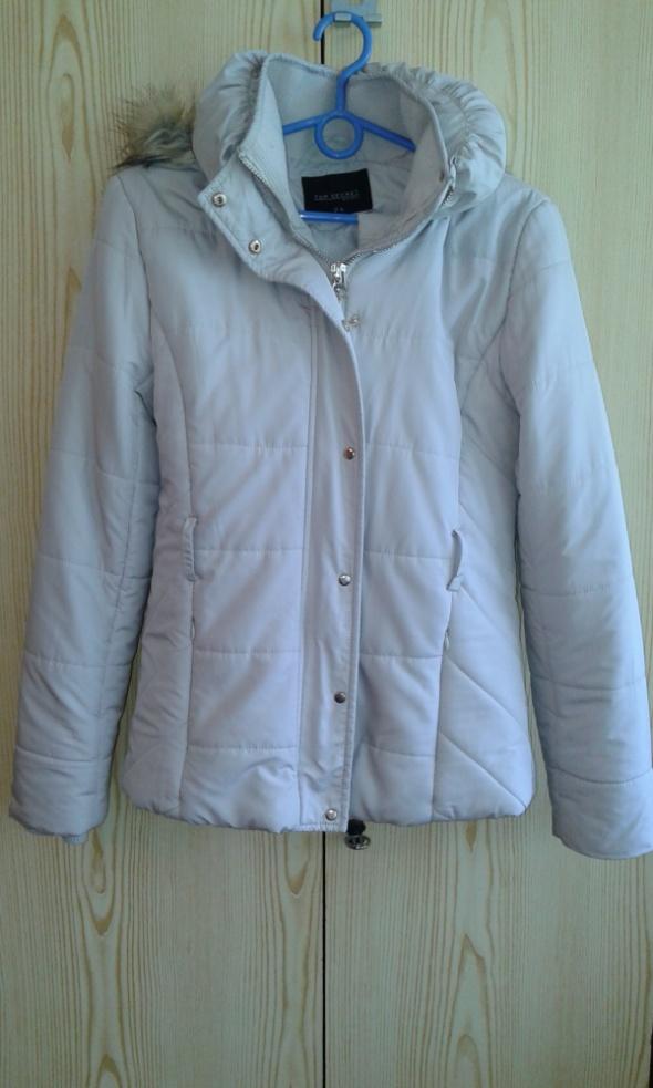 Odzież wierzchnia Beżowa kurtka Top Secret 36 S z futerkiem