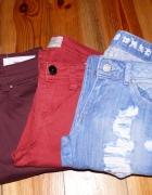 3 pary spodni...