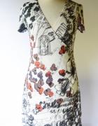 Sukienka Desigual L 40 Wzory Kopertowa Life Is Fantastic...