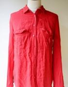 Koszula Czerwona Orsay L 40 Oversize Elegancka Pracy...