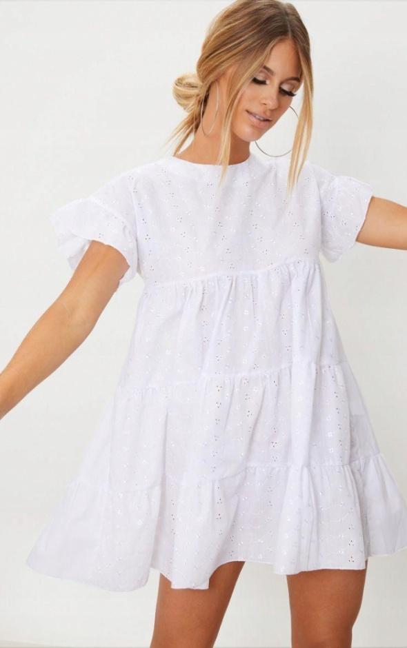 Sukienka ażurowa xxs 32
