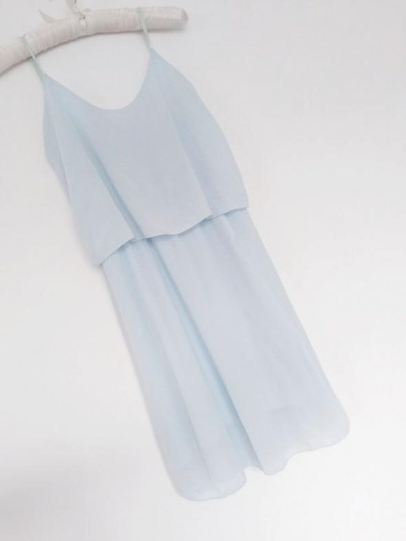 Suknie i sukienki sukienka mgiełka baby blue