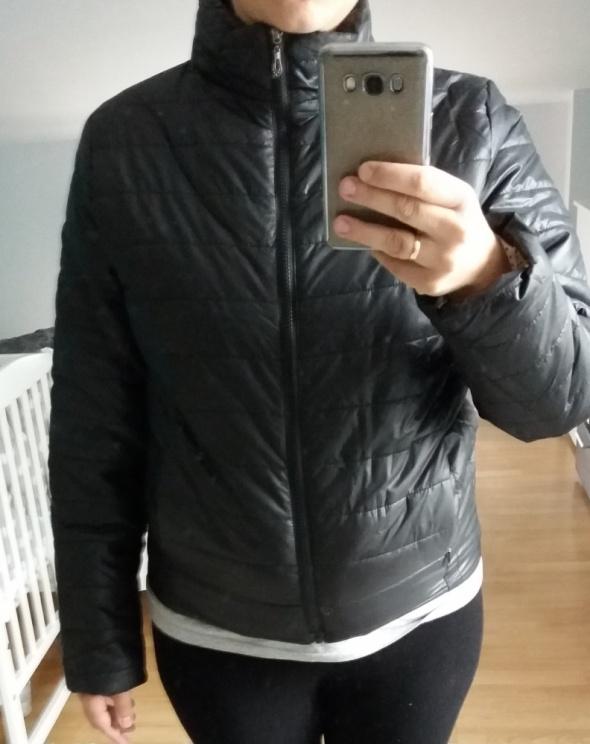 Nowa czarna kurtka pikowana L