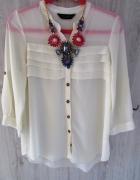Śliczna kremowa wiosenna bluzka markowa L 40...