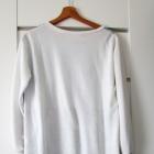Piękna niepowtarzalna letnia biała bluza M