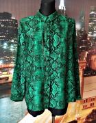 primark koszula wzór węża skora butelkowa zieleń nowa 42...