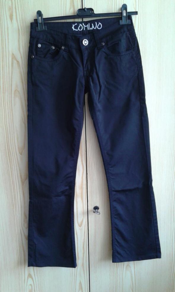 Czarne spodnie XS 26