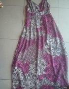 Pepperberry sukienka maxi wzór zdobienia 36