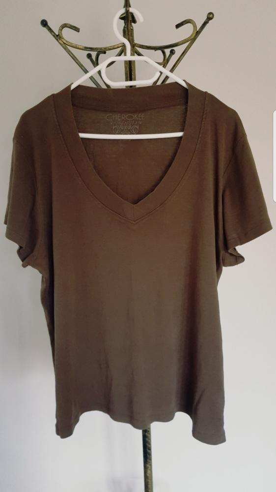 Brązowa koszulka