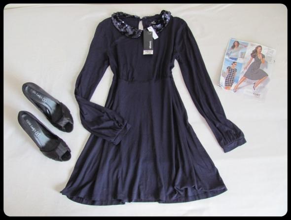 GEORGE sukienka NOWA z metką z cekinami 40 L
