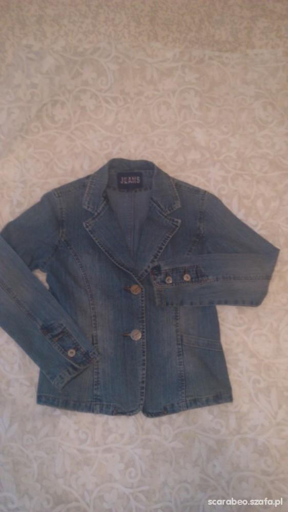 marynarka żakiet jeans M
