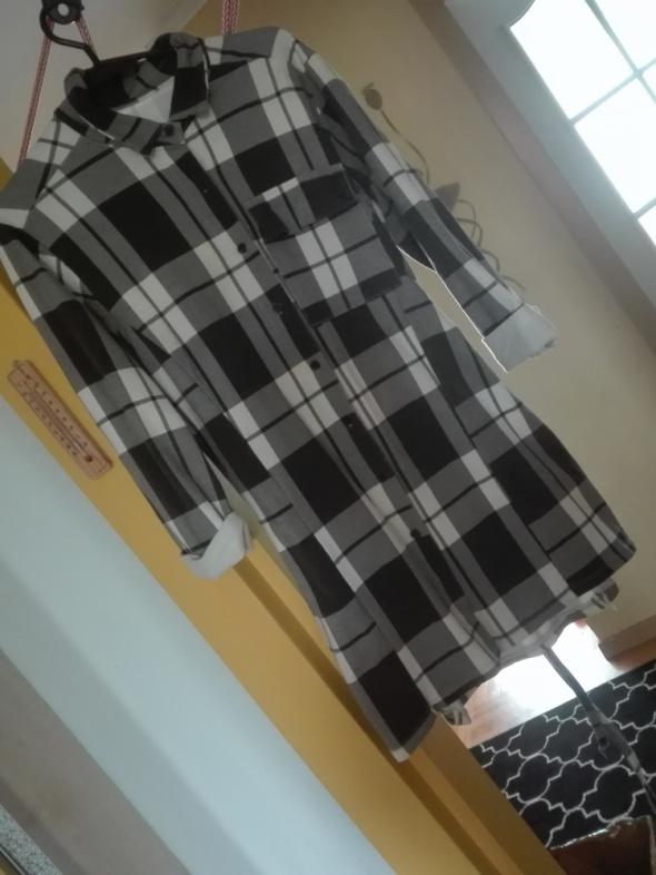 Długa koszula sukienka