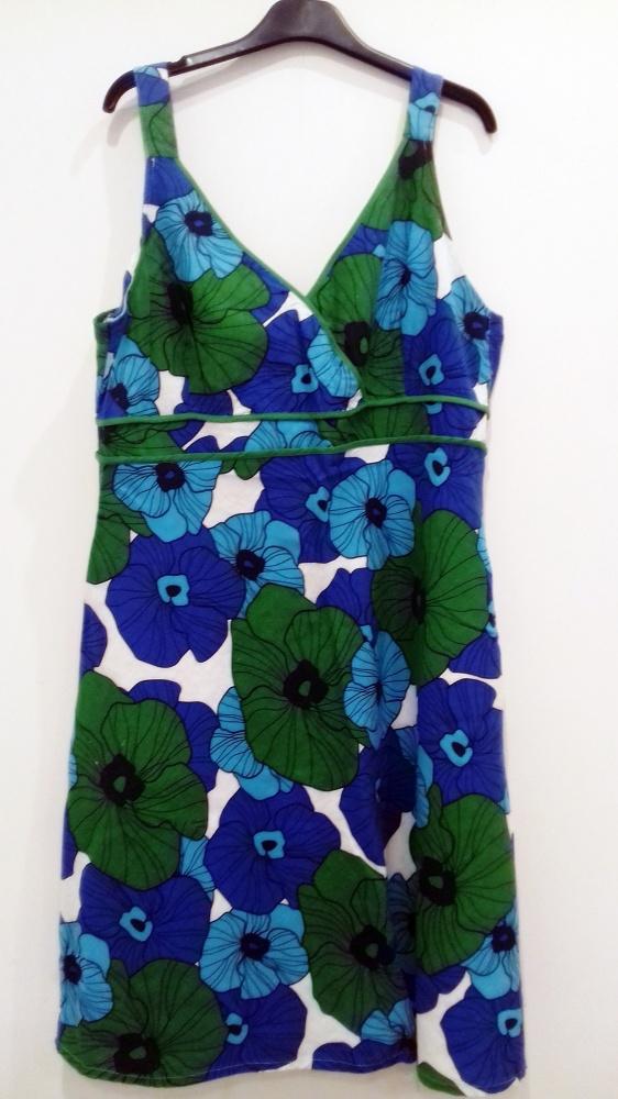 sukienka letnia w kwiaty F&F 44...