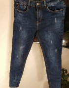 jeansy rurki nowe 29 L...