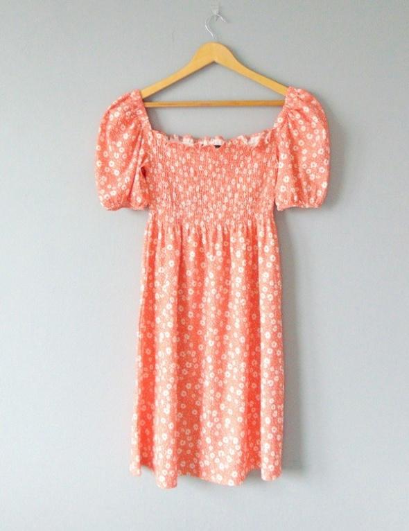 F&F sukienka midi z bufkami 44...
